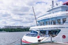 Cruise river ship Stock Photos