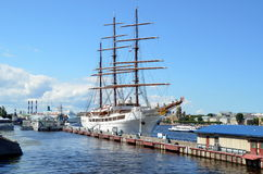 Cruise sailboat Sea Cloud II Royalty Free Stock Photo
