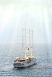 Cruise sailing vessel Royalty Free Stock Photography