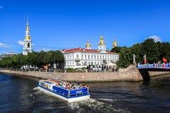 Cruise on Saint Petersburg Stock Photography