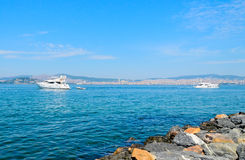 Cruise on the sea of Marmara. Stock Photo