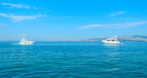 Cruise on the sea of Marmara. Stock Photography