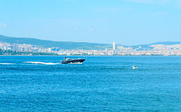 Cruise on the sea of Marmara. Stock Images