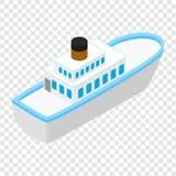 Cruise sea ship isometric 3d icon Stock Image