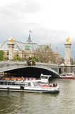 Cruise on Seine Stock Photography