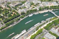 Cruise on Seine Royalty Free Stock Photos