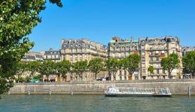 Cruise on Seine, Paris Royalty Free Stock Image