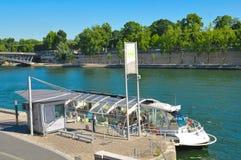 Cruise on Seine, Paris Stock Image