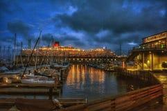 Cruise in SFO Royalty-vrije Stock Foto's