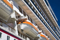 Cruise ship Royalty Free Stock Photos