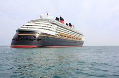 Cruise ship. Modern cruise ship on sea Stock Photos