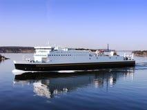 Cruise Ship. Large cruise ship in the Stockholm archipelago Royalty Free Stock Photo