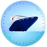Cruise ship Royalty Free Stock Photography