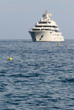 Cruise Ship. Arriving at port of Monte Carlo Royalty Free Stock Photo