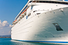 Cruise ship. Cruise Romantica of Costa Crociere in a port of Greece July 2011 Royalty Free Stock Images