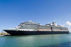 Cruise ship. Luxury cruise ship in port Royalty Free Stock Image