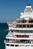 Cruise ship. Detail of a modern cruise ship Royalty Free Stock Photography