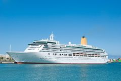 Cruise-ship Stock Photo