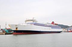 A cruise ship Royalty Free Stock Photo