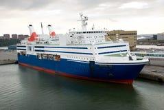 Cruise Ship. Medium Size Cruise Ship Docking Royalty Free Stock Photography