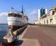 Cruise ship ADRIANA Stock Photo