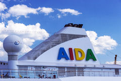 Cruise ship Aida Aura Stock Image