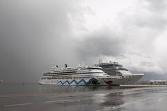 Cruise ship Aida Aura Royalty Free Stock Photos