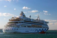 Cruise ship Aida Stock Images