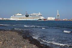 Cruise ship AIDAblu Royalty Free Stock Photos