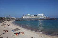 Cruise ship AIDAblu Stock Photography