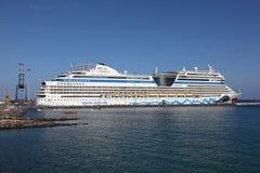 Cruise ship AIDAblu Royalty Free Stock Image