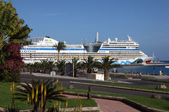 Cruise ship AIDAblu Royalty Free Stock Images