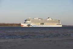 Cruise ship AIDAperla Royalty Free Stock Image