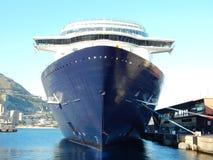 Cruise ship anchored Stock Photo