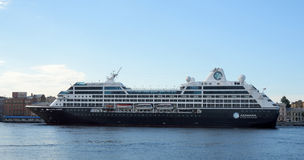 Cruise Ship Azamara Journey in St Petersburg Stock Photo