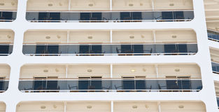 Cruise Ship background. Royalty Free Stock Photo