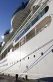 Cruise Ship In Bahamas Royalty Free Stock Images