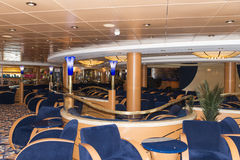 Cruise ship bar interior Stock Images
