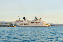 Cruise Ship at the berth, Adriatic Sea Stock Photography