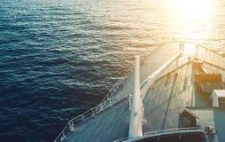 Cruise Ship Bow Stock Photo