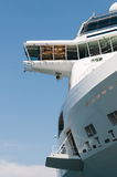 Cruise ship bridge Stock Photo