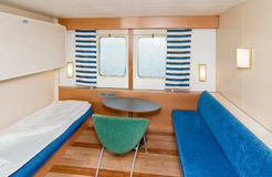 Cruise Ship Cabin Stock Photo