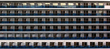 Cruise ship cabins Royalty Free Stock Images