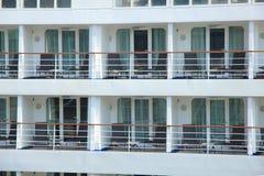 Cruise ship cabins Stock Photos