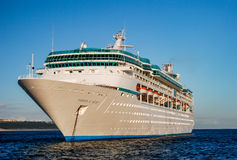 Cruise Ship in Cabo stock images