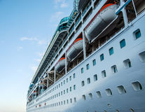 Cruise Ship in Cabo stock photography