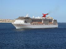 Cruise Ship In Cabo San Lucas Royalty Free Stock Photos