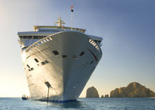 Cruise ship. Cabo San Lucas. Mexico Royalty Free Stock Photo