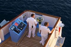 Cruise ship captain Royalty Free Stock Images