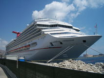 Cruise ship carnival freedom Stock Images